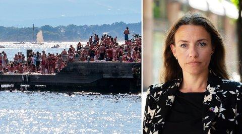 SKAPER BEKYMRING: Solsultne nordmenn topper versting-statistikk globalt, men Ingrid Stenstadvold Ross i Kreftforeningen håper vi klarer å snu den dystre trenden.