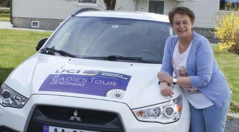 LADIES TOUR OF NORWAY: Astrid Brøchner har en viktig rolle i Ladies Tour of Norway som ansvarlig for innkvartering og catering. Foto: Terje Vidar Høvik