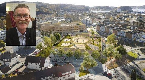 FORSTÅR FRUSTRASJONENE: Geir Helge Sandsmark (V) forstår at mange reagerer på at Os skole skal rives, selv om både sentrumsplanen og kommunestyret tidligere har vedtatt noe annet.
