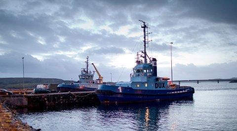 Nå er både Dux og  Felix ute av skipslistene til Østensjø Rederi.