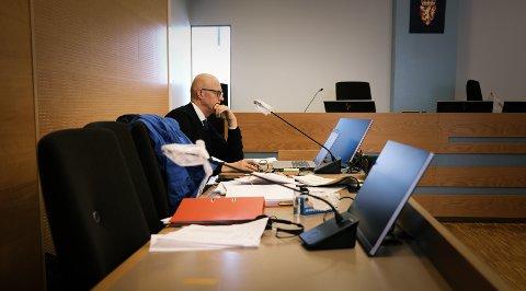 SPESIELL SAK: Statsadvokat Folke Åmlid tvilte seg fram til straffepåstand.