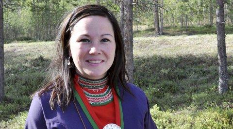 FORNØYD: Leder Ellinor Marita Jåma i NRL er fornøyd med den nye reindriftsavtalen.