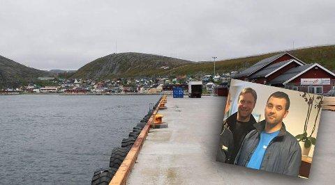 VIL SKAPE AKTIVITET: Bernt R. Fredriksen fra Kjøllefjord synes det er artig å være med på å skape mer trafikk i havna, og bidra med flere arbeidsplasser i hjemkommunen. Nå har han akkurat startet opp egen egnesentral i Kjøllefjord.