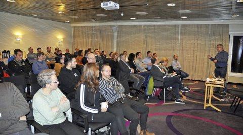 STOR INTERESSE: Vår Energis workshop for lokale leverandører ble omfattet med stor interesse.