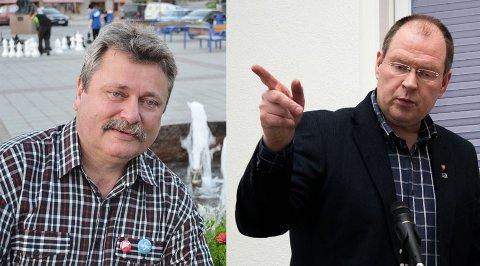 ALVORLIG: Både Høres Eilif Johannesen og SVs Pål K. Gabrielsen ser alvorlig på barnevernssaken i Sør-Varanger kommune.