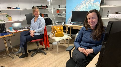Marjolein Ten Hoopen og Lorena Suarez i North Cape Tours as er glade for at FEFO nå har snudd igjen.