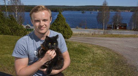 JUBILANT: Viktor Nilsen blir 20 år 19. mai. Foto: Anne Enger Mjåland
