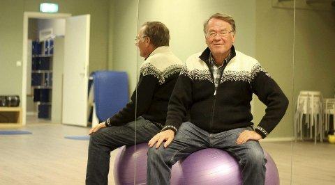 Åpen: Bjørn Nymoen står fram om prostataproblematikk, noe mange tusen menn opplever årlig. Foto: Joakim Teveldal