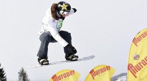 NUMMER SJU: Silje Norendal ble nummer sju i verdenscuprennet i slopestyle i New Zealand mandag morgen. foto: digitalsport