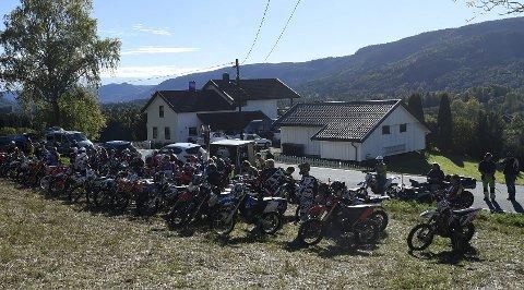 ENDUROFEST: Søndag er det klart for NMK Kongsbergs klubbløp hjemme hos Øystein Kjørstad i Hvambskroken.ALLE FOTO: OLE JOHN HOSTVEDT