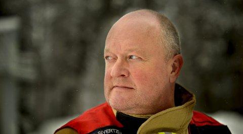 DYKKELEDER: Morten Sivertzen var blant de første som kom til Utøya da 69 unge og voksne ble drept i terrorangrepet den 22. juli 2011. Han var dykkeleder for Kongsberg brann- og redningsetat.