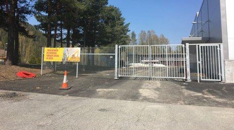 Portene til den nye bygg- og trelastbutikken åpnes 24. mai.