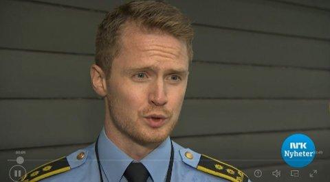 UNNTAS OFFENTLIGHET: Politiadvokat Henrik Bjugan Hegdahl sier at det kan bli aktuelt å unnta deler av tiltalen fra offentligheten av hensyn til ofrene i overgrepssaken.
