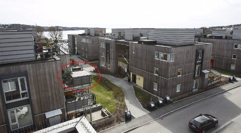 Helt på kanten: På flere av terrassene i boligsameiet Sjøbadet Park er det installert jacuzzier. Westviks er plassert helt ute på kanten av verandaen.
