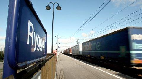 Rygge: Ole Gjølberg konstarerer at BBM neppe er særlig opptatt av jernbanekonsekvensene for Rygge.