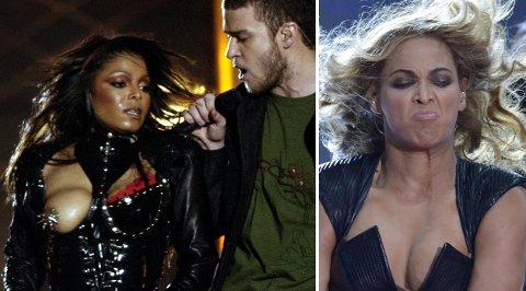 Ikke rent sjelden hender det helt elleville ting i Superbowl-sirkuset, det kan både Janet Jackson, Justin Timberlake og Beyonce skrive under på.
