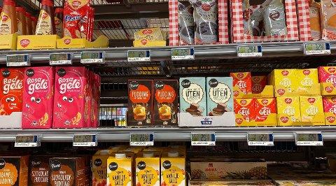 DESSERT: I forrige ukes prissammenligning var fokuset spesielt rettet mot dessert-varer, og denne uken har vi sjekket prisene på de samme varene på nytt.  Foto: Nina Lorvik/Nettavisen