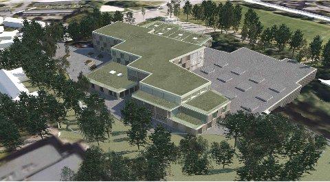 Sofiemyr skole er et av stridstemaene i behovsplanen.