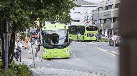 REDUSERES: Først var det togtrafikken - nå rammes også øvrig kollektivtrafikk av korona-situasjonen.