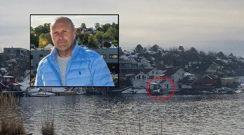 VARSEL OM PÅLEGG: Gjert Åge Sommereng har fått beskjed fra Larvik kommune om at det er en rekke ulovlige tiltak på eiendommen han kjøpte i 2019.