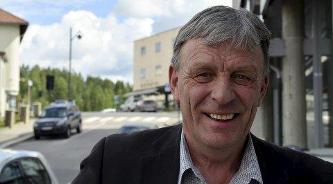 IKKE BOMBASTISK:  Arnfinn Uthus (Sp) opplever at folk er mer kritisk til alternativ 1 enn alternativ 2.