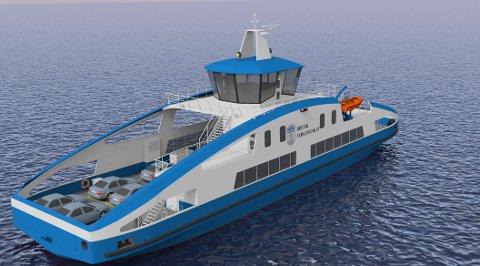 Det nederlandske skipsverftet Holland Shipyards BVskal bygge ny elektrisk ferge til Brevik Fergeselskap IKS.
