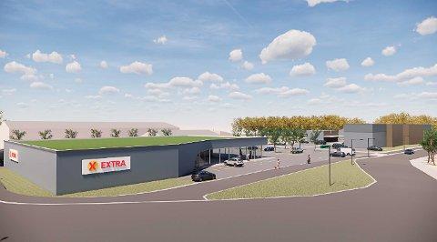 Ny butikk vil føre til stor endring i konkurransen i nærområdet, men lite innenfor en større radius.