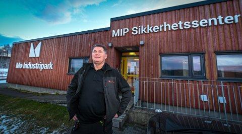 MIP Mo Industripark sikkerhetssenter portvakt brannstasjon. Richard Erlandsen.