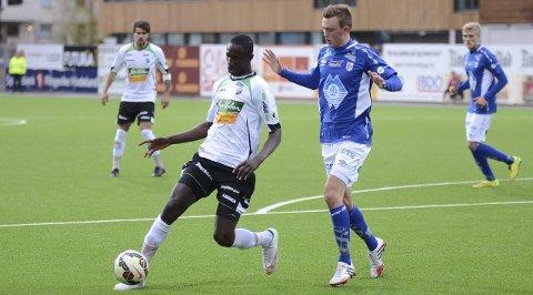 Franske Caen følger HBKs Ibrahima Dramé med interesse. Denne og neste uke trener senegaleseren med toppklubben.