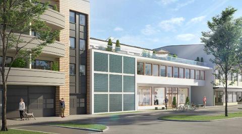En bolig i prosjekt Turnhallen ble solgt for over åtte millioner kroner sist måned.