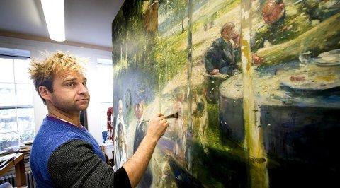 TIL ASKIM: Vebjørn Sand kommer til Askim for å holde malerkurs og foredrag. ARKIVFOTO