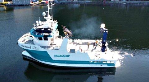 «Aqua Service» skal til vestkysten av Canada på en langtidskontrakt.