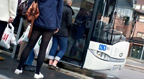POPULÆRT: Stadig flere bruker bussen. For VKTs del har den mest positive utviklingen skjedd i Sandefjord, Larvik, Tønsberg og Horten.