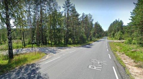 Riksvei 41 sør for Åmli.