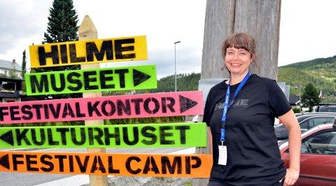 Festivalliv: Festivalsjef Ellen Persvold inviterer til konsertar, kurs og dans ei veke til endes på Hilmestemnet.