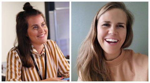 SATSER: Charlotte Jonstang Hagen og Benedikte Haug er blant flere som satser med eget firma.