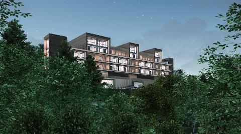 BUTIKK OG BOLIGER: Bunnefjorden Eiendom AS og Norgesgruppen jobber med et prosjekt for ny butikk og nye boliger på Vinterbro. Men de er avhengige av at politikerne vil gjennomføre omreguleringen de ber om.