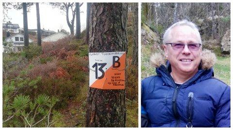 Slik ser årets postar til Kvernbit IL turopplegg. Truls Corneliussen har laga tur-orienteringen saman med kona si, Bente Bjørndal Corneliussen.