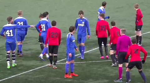Nordstranda har trukket laget sitt fra videre spill i AN-ligaen. Dermed ble kampen mot Drag sist helg den siste i denne omgang.