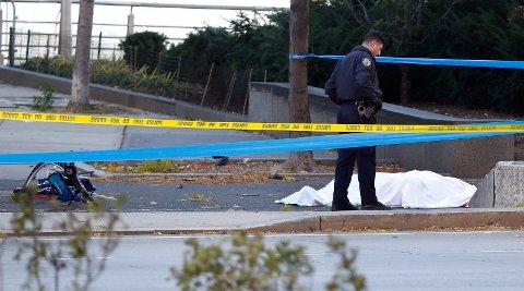 Minst åtte personer ble drept i angrepet som blir omtalt som et terrorangrep.
