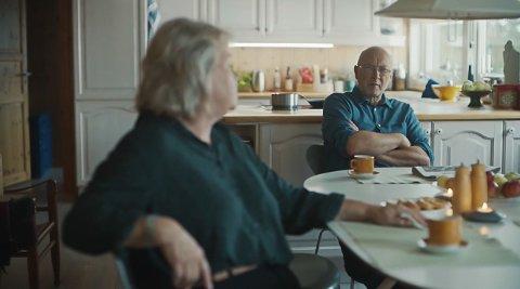 PÅ SKJERMEN: Øyvind Trulsrud spiller faren i den nyeste Lotto-reklamen som POL og Einar Film står bak.