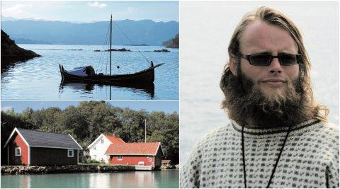 NÅ 19: Gunnar Nicolai Halvorsen bestemte seg i 2005 for å oppleve Norges 19 fylker med nordlandsbåten sin. Prosjektet ble satt på vent i noen år, men nå som Norge mister ett fylke måtte han får fart på sakene.