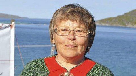 Trist: Ingunn Utsi fikk sjokk når hun fikk høre at man skal utrede mulightene for vindkraft i området Reinelva og Ørretvann ved Repvåg. - Er ikke dette området nok beskattet spør hun.