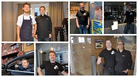JOBBLIV: Odd-Arne Nilsen har holdt Corner i Honningsvåg gående i 23 år. Han ser ikke ut til å ta seg tid til noe annet.