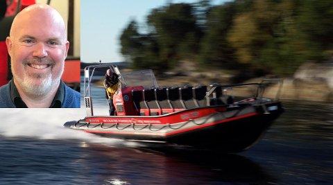 Leif Stavøstrand prøver å setje verdsrekord med elbåten sin, «Evoy1».
