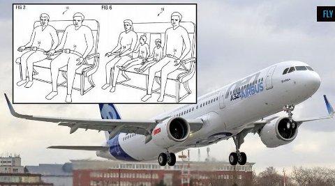 Airbus ønsker seg nye seter i fremtiden som er litt vondere å sitte i, mot at de tilbyr større fleksibilitet.