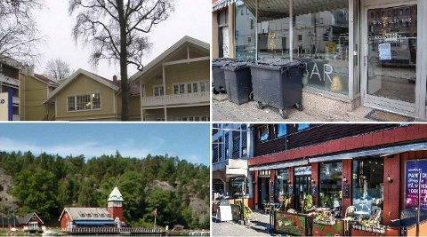 STREKMUNNER: Hankø Fjordhotel & Spa,  Hankø Seilerkro og  Shiki Sushi Bar og Urban Splash.