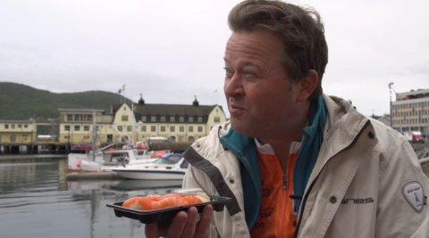 HEIER PÅ FLÅM I NARVIK: Arne Hjeltnes mener Flåm AS gjør rett  når de satser i Narvik. - Arctic Train er et kjempekult prosjekt, mener han.