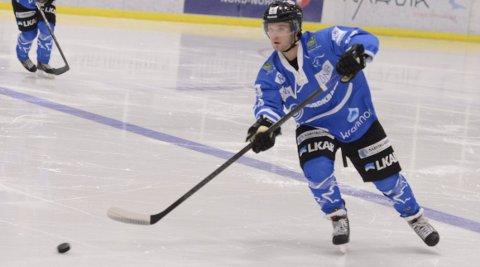 Retur? Martin Persson er på nyåret tilbake i Narvik etter å ha fått jobb. Han utelukker ikke at han også vil være tilbake på isen. Arkivfoto