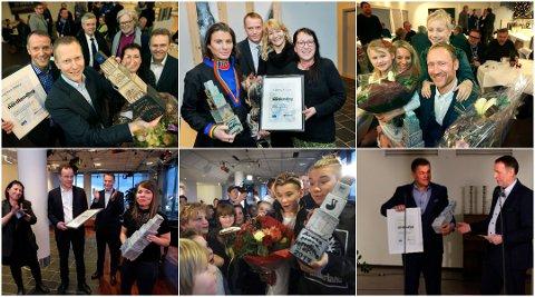 Knut-Eirik Dybdahl, Erlend Elias Bragstad, Sverre Håkon Evju, Marion Anne Knutsen, Marcus og Martinus Gunnarsen og Erik Plener er de seks siste vinnerne av Årets Nordlending.